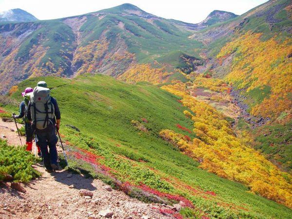 十石山から硫黄岳